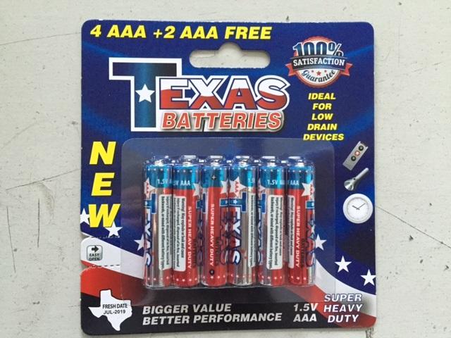 Texas Aaa Super Heavy Duty Battery 4 2 Pack Valuemax