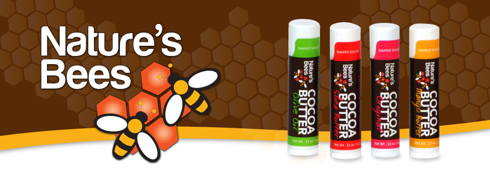 Nature's Bees Lip Balms